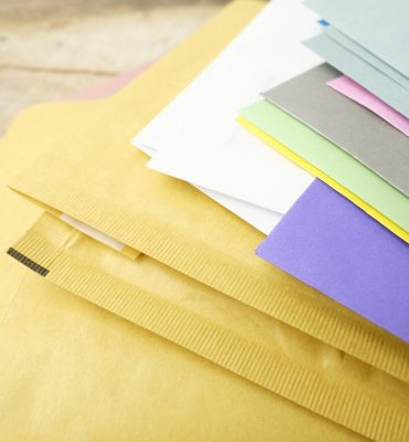 kirjekuoria